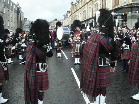 Pipe Band Pitlochry